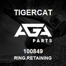 100849 Tigercat RING,RETAINING | AGA Parts