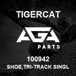 100942 Tigercat SHOE,TRI-TRACK SINGLE GROUSER 28'' LH | AGA Parts