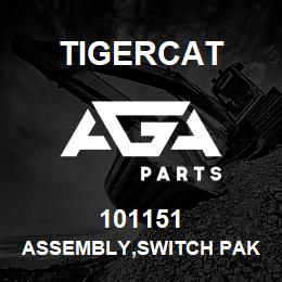 101151 Tigercat ASSEMBLY,SWITCH PAK 6 BUTTON | AGA Parts