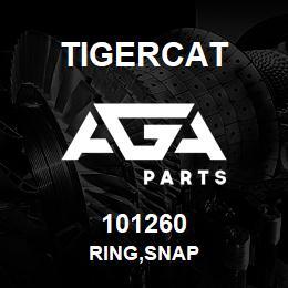 101260 Tigercat RING,SNAP   AGA Parts
