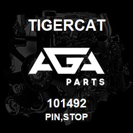 101492 Tigercat PIN,STOP | AGA Parts