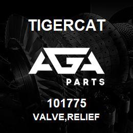101775 Tigercat VALVE,RELIEF | AGA Parts