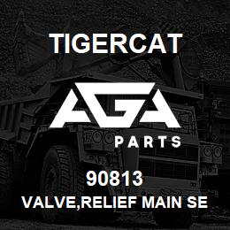 90813 Tigercat VALVE,RELIEF MAIN SECTION | AGA Parts