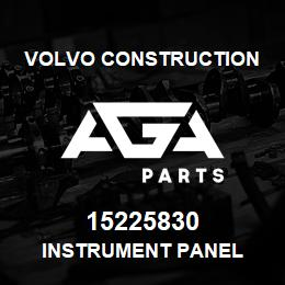 15225830 Volvo CE INSTRUMENT PANEL | AGA Parts