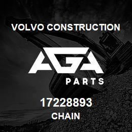 17228893 Volvo CE CHAIN | AGA Parts