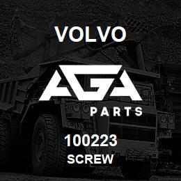 100223 Volvo Screw | AGA Parts