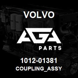 1012-01381 Volvo COUPLING_ASSY | AGA Parts