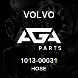1013-00031 Volvo HOSE | AGA Parts