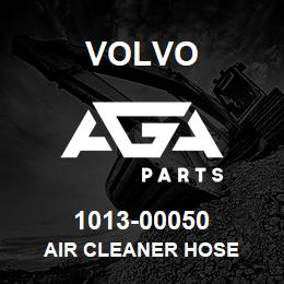1013-00050 Volvo AIR CLEANER HOSE | AGA Parts