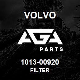 1013-00920 Volvo FILTER | AGA Parts