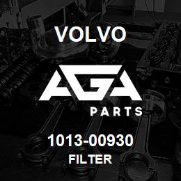 1013-00930 Volvo FILTER | AGA Parts