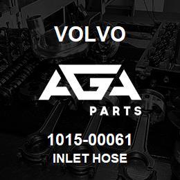 1015-00061 Volvo INLET HOSE | AGA Parts