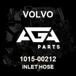 1015-00212 Volvo INLET HOSE | AGA Parts