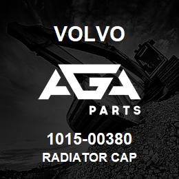 1015-00380 Volvo RADIATOR CAP | AGA Parts