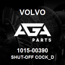 1015-00390 Volvo SHUT-OFF COCK_D | AGA Parts