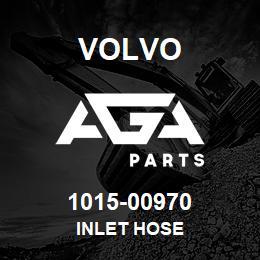 1015-00970 Volvo INLET HOSE | AGA Parts