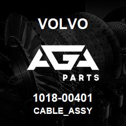 1018-00401 Volvo CABLE_ASSY | AGA Parts