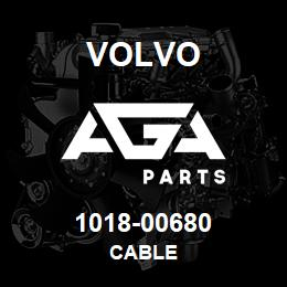 1018-00680 Volvo CABLE | AGA Parts