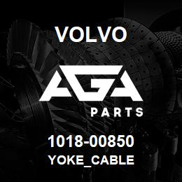 1018-00850 Volvo YOKE_CABLE | AGA Parts