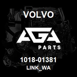 1018-01381 Volvo LINK_WA | AGA Parts