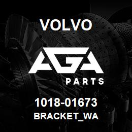 1018-01673 Volvo BRACKET_WA | AGA Parts