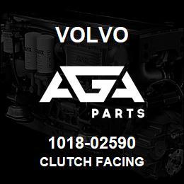 1018-02590 Volvo CLUTCH FACING | AGA Parts