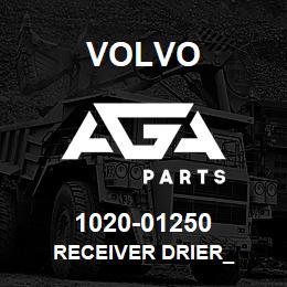 1020-01250 Volvo RECEIVER DRIER_ | AGA Parts