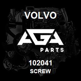 102041 Volvo Screw | AGA Parts