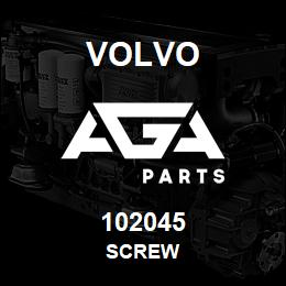102045 Volvo Hexagon screw | AGA Parts