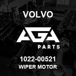 1022-00521 Volvo WIPER MOTOR | AGA Parts