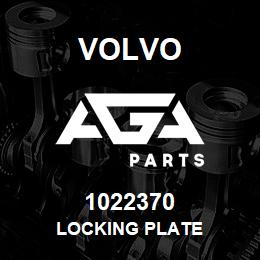 1022370 Volvo LOCKING PLATE | AGA Parts