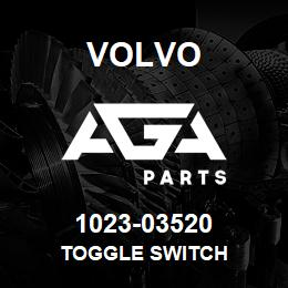 1023-03520 Volvo TOGGLE SWITCH | AGA Parts
