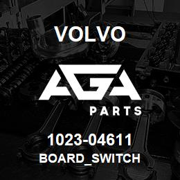 1023-04611 Volvo BOARD_SWITCH | AGA Parts