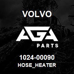 1024-00090 Volvo HOSE_HEATER | AGA Parts