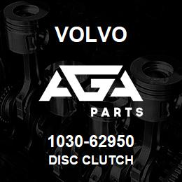 1030-62950 Volvo DISC CLUTCH | AGA Parts