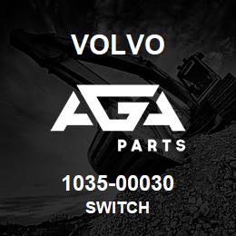 1035-00030 Volvo SWITCH | AGA Parts