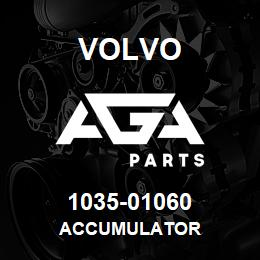 1035-01060 Volvo ACCUMULATOR | AGA Parts