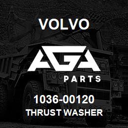 1036-00120 Volvo THRUST WASHER | AGA Parts
