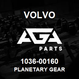 1036-00160 Volvo PLANETARY GEAR | AGA Parts