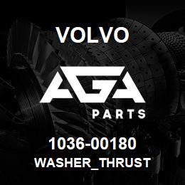 1036-00180 Volvo WASHER_THRUST | AGA Parts