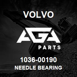 1036-00190 Volvo NEEDLE BEARING | AGA Parts