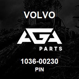 1036-00230 Volvo PIN | AGA Parts