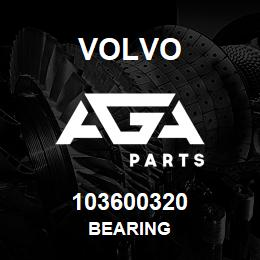 103600320 Volvo Bearing | AGA Parts