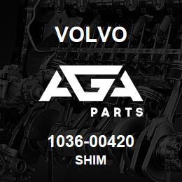 1036-00420 Volvo SHIM | AGA Parts