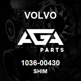 1036-00430 Volvo SHIM | AGA Parts