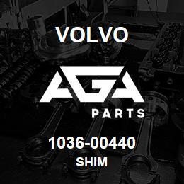 1036-00440 Volvo SHIM   AGA Parts