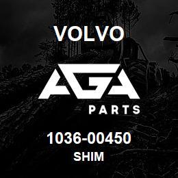 1036-00450 Volvo SHIM | AGA Parts