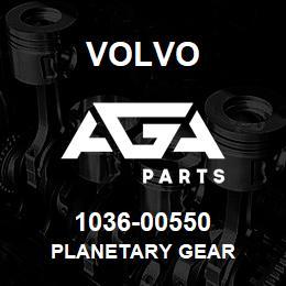1036-00550 Volvo PLANETARY GEAR | AGA Parts