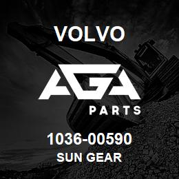 1036-00590 Volvo SUN GEAR | AGA Parts
