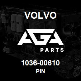 1036-00610 Volvo PIN | AGA Parts